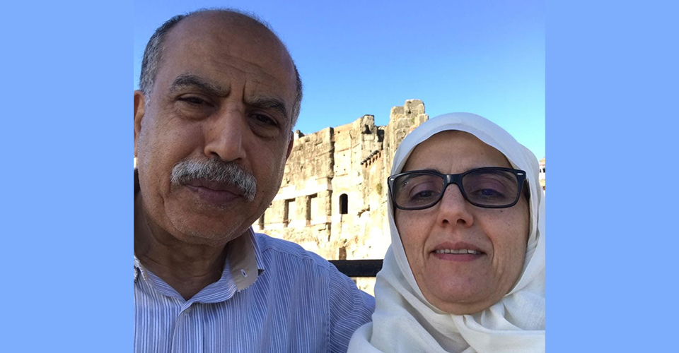bakr and wife daad blue sides